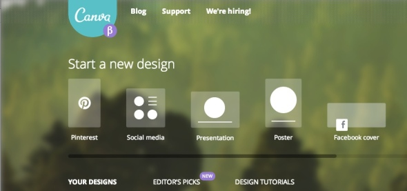 canva screen