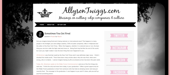 ally blog