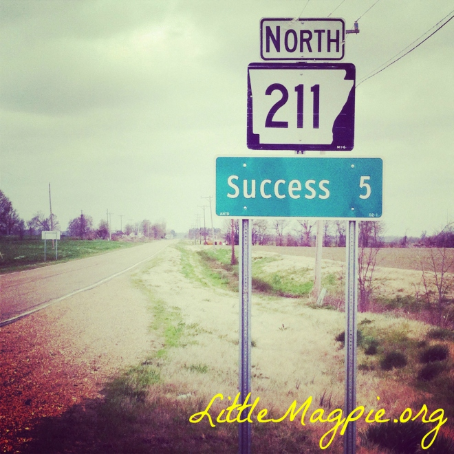 Directions to Success in northeast Arkansas.